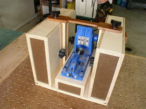 pocket hole workstation  horky  lumberjockscom