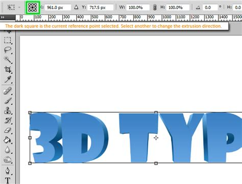 tutorial photoshop cs3 text 3d how to create 3d text without the use of any 3d tools