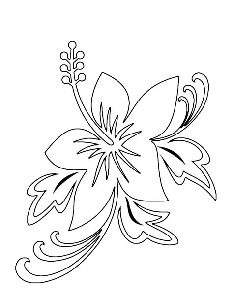 coloring pages of flowers printable free printable flower coloring pages for kids best