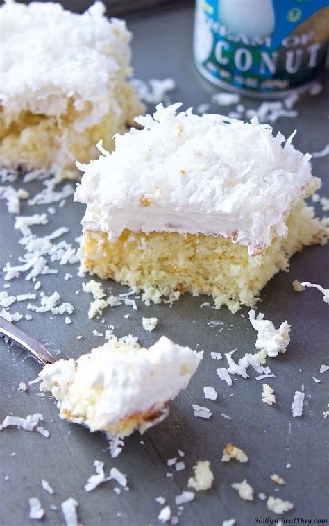 coconut cake made easy easy coconut cake holly s cheat day