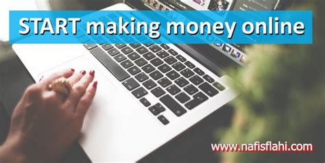 Make Easy Money Online From Home - 5 easy ways to make money online from home