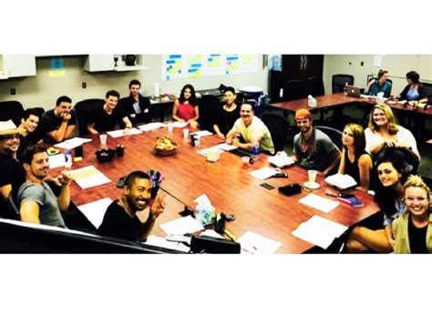Table Read by Klamille Fansite And Joseph At The Originals 3x02 Table Read Today