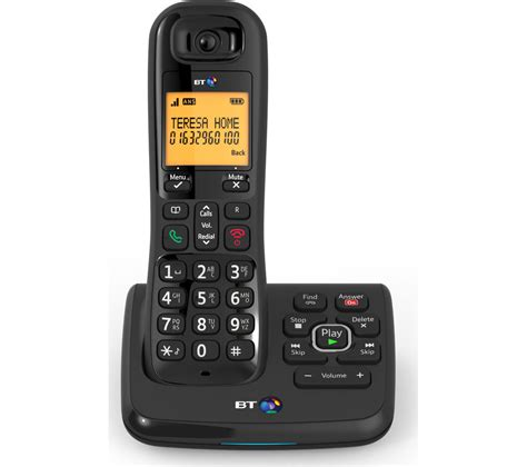 Bt Address Finder Uk Bt Xd56 Cordless Phone With Answering Machine Times Uk 163 59 99