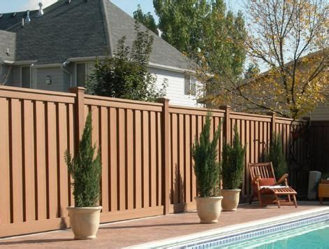 backyard screening options top 25 best composite fencing ideas on pinterest