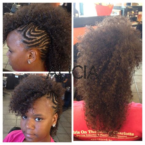 young braiders in charlotte another diva ready for school mohawk crochet weave