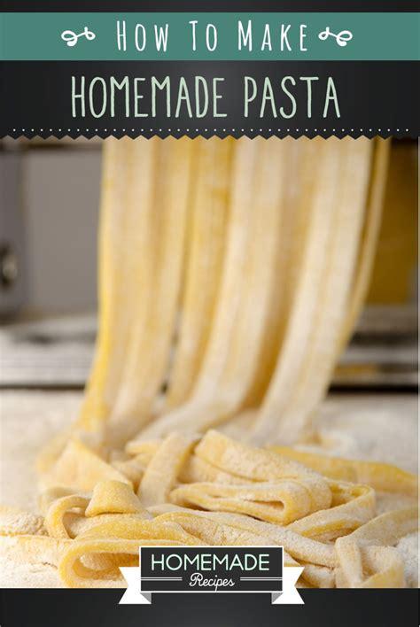 Best Handmade Pasta Recipe - easy pasta recipe recipes
