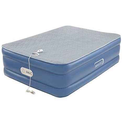 air mattresses aerobed quilted foam topper air mattress ebay