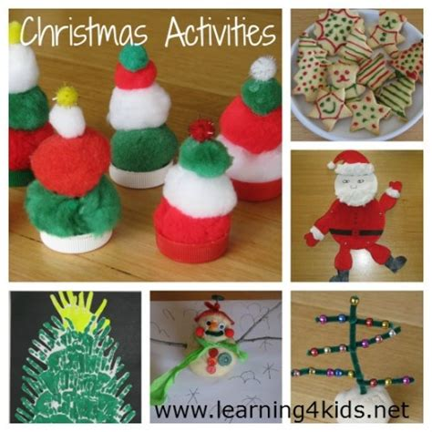 free christmas activities ebook learning 4 kids