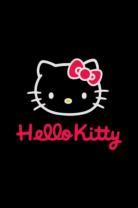 hello kitty apple wallpaper freeios7 hello kitty dark parallax hd iphone ipad