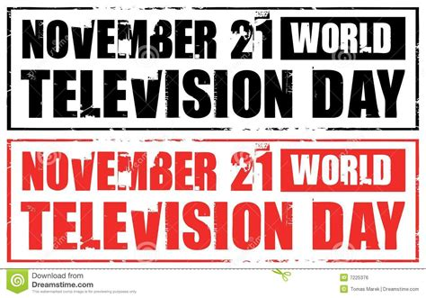 day on tv royalty free stock image world television day image 7225376