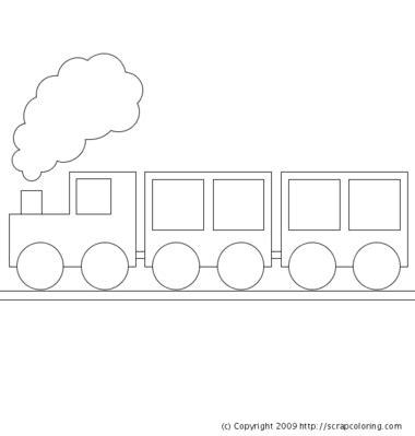 shape train pattern best photos of train cut out shapes template preschool