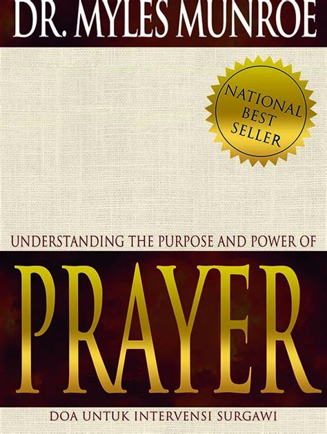 jual buku understanding the purpose and power of prayer
