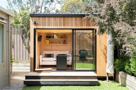 backyard guest room outbuilding of the week an instant backyard room for work