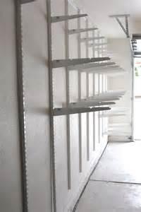 garage wall shelving plans best 25 garage shelving ideas on building