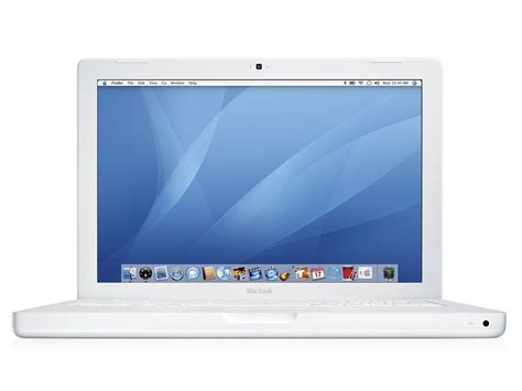 Macbook White refurbished white apple macbook laptop 13 3 quot 1 83 ghz