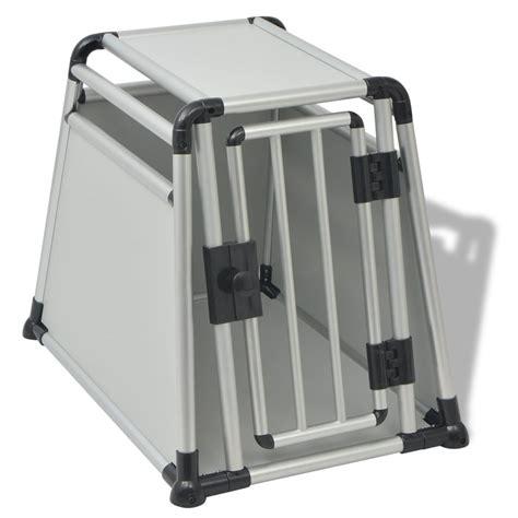 gabbie trasporto cani in alluminio vidaxl gabbia per trasporto cani in alluminio m vidaxl it