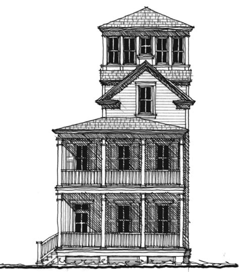 house plans with towers second empire tower house plan c0387 design from allison