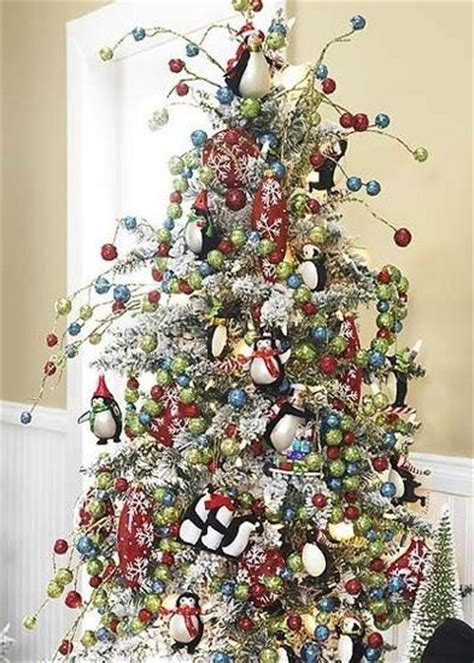 penguin tree christmas stuff pinterest