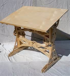 Make A Drafting Table Hendrick S Diy Mechanized Drafting Table Core77