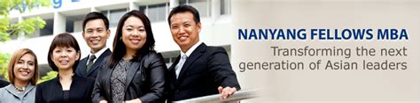Ntu Executive Mba by Meet Us Nanyang Fellows Mba