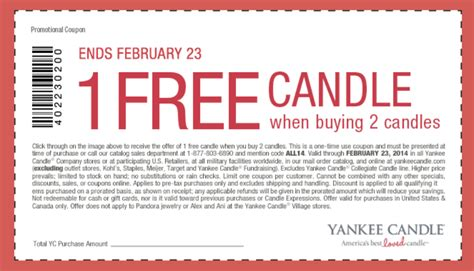 where to get printable grocery coupons free yankee candle printable grocery coupon