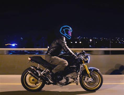 motorcycle helmet light kit lightmode electroluminescent motorcycle helmet kit