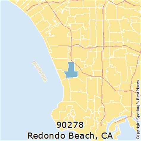 california map redondo best places to live in redondo zip 90278 california