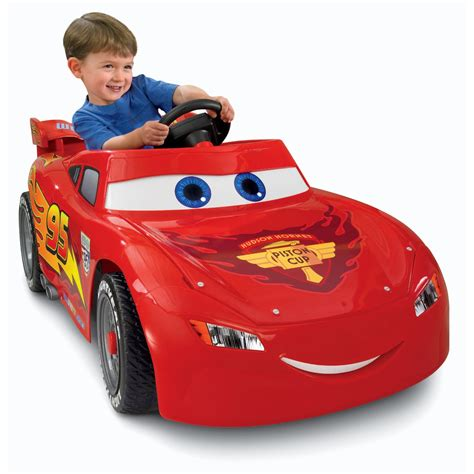 lighting mcqueen power wheels car the best ride on cars for