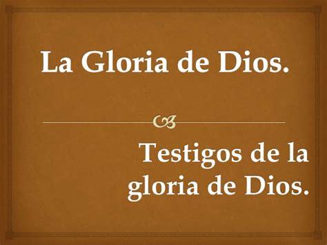 la gloria de dios 1603744916 salmos 19 la gloria de dios ibe callao 30 04 2015