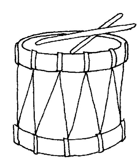 Drum Coloring Page Coloring Home Drum Coloring Page