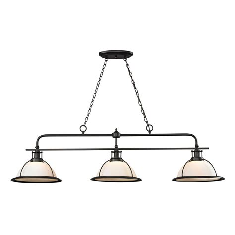 Bronze Kitchen Light Fixtures | elk 55047 3 wilmington modern oil rubbed bronze kitchen