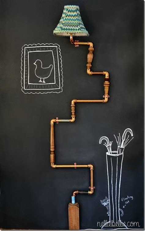 industrial eye candy 40 pipes home decor ideas digsdigs