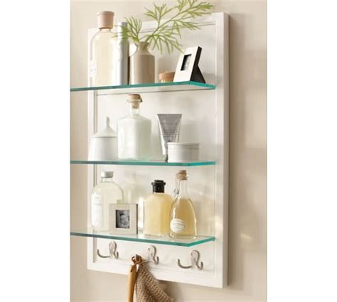 pottery barn bathroom shelves bathroom storage pottery barn with brilliant picture
