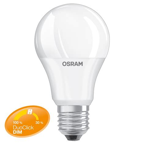 Lu Led Osram 10 Watt dimmen ohne dimmer duo click dim osram led de