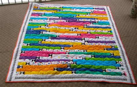 Jellyroll Race Quilt by S Scraps Jelly Roll Race