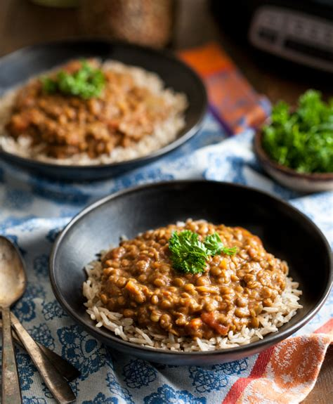 slow cooker masala lentils hamilton beach slow cooker giveaway the full helping