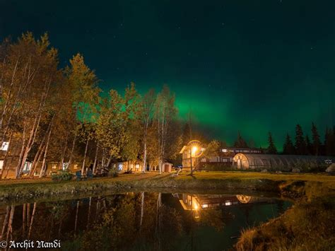 chena springs northern lights s 16 most magnificent places to stay for