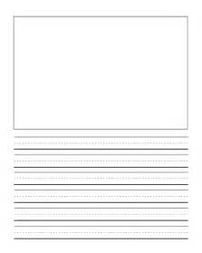 writing templates for 3rd grade grade writng paper template with picture journal