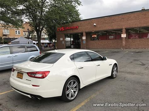 Maserati New York by Maserati Quattroporte Spotted In Rochester New York On 08