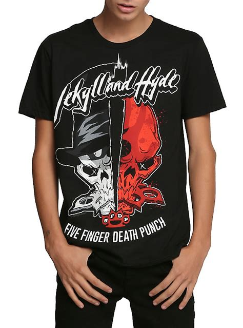 Tshirt Five Finger Punch C3 five finger punch jekyll and hyde t shirt topic