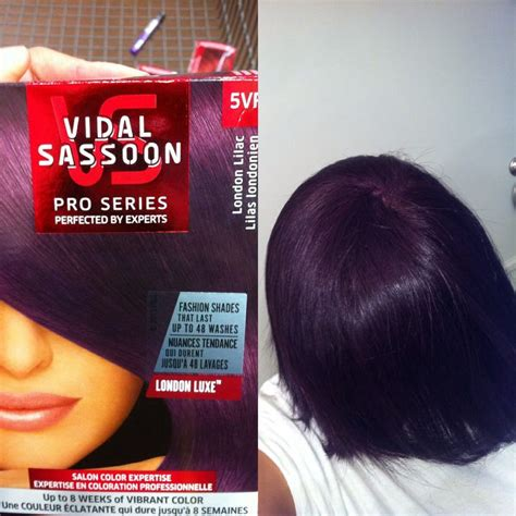 london lilac on black hair vidal sassoon london lilac purple hair i wanted it to be a