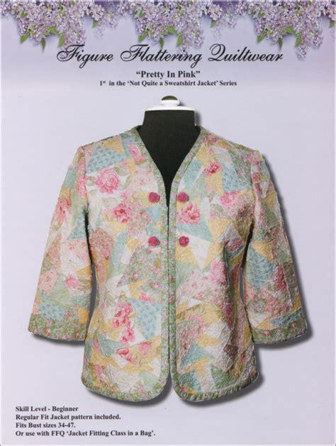 Batik Blus Vest Wk 26 33 pretty in pink jacket pattern