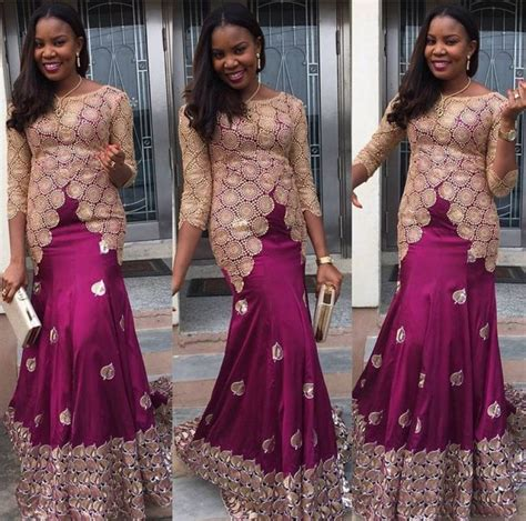 naija new lace style 1198 photos of nigerian styles with lace dresses in 2017