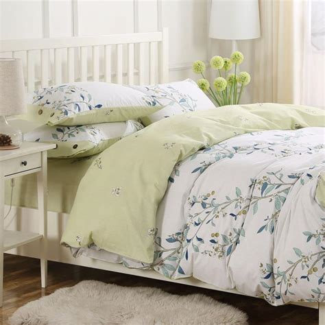 Full Queen French Country Cottage Shabby Chic Duvet Quilt Country Cottage Bedding Sets
