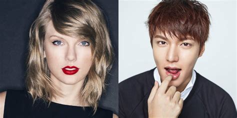 who is lee min ho dating mym entertainment responds to lee min ho and taylor swift