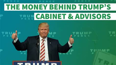 trump advisors and cabinet the richest and poorest us presidents gobankingrates