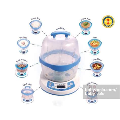 Cooker Baby Safe jual murah baby safe 10 in 1 multifunction steamer feeding