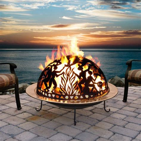 ceramic firepit ceramic outdoor pit pit design ideas