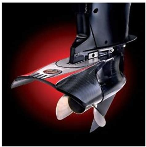 outboard motor fins boat stingray xrlll hydrofoil stabilizer fin jr whale