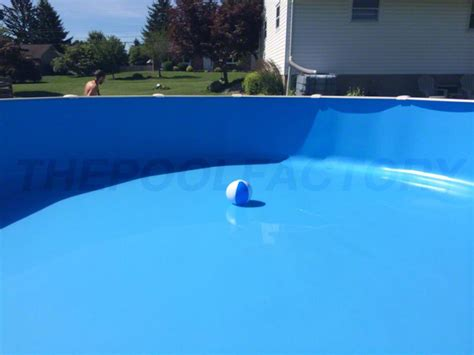 exceptional Custom Above Ground Pool #6: pool-liner-blue-1.jpg